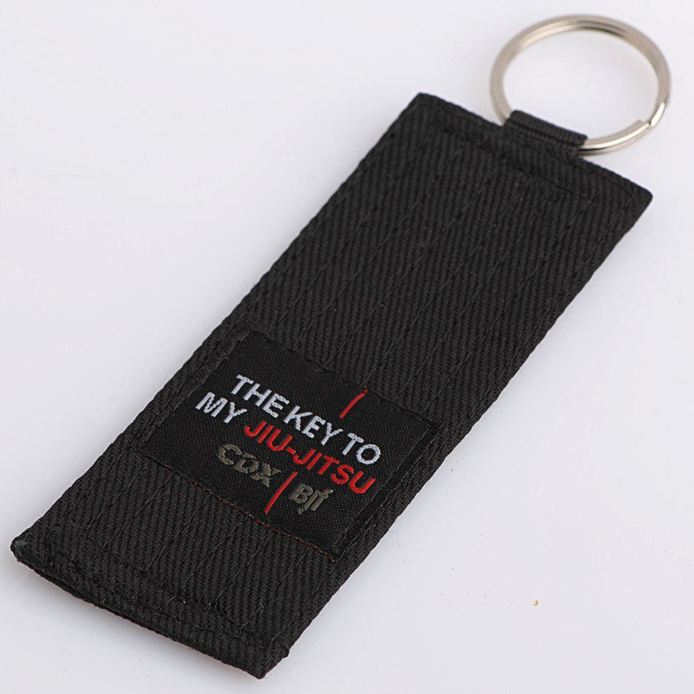 "Rank keychain ""The Key to my Jiu Jitsu"""