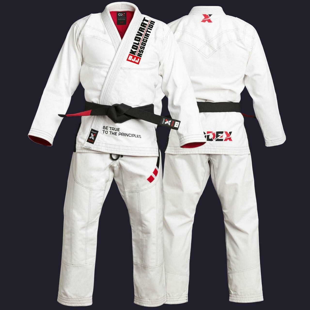 "Kimono for the Brazilian Jiu Jitsu for the club ""Kolovrat"""