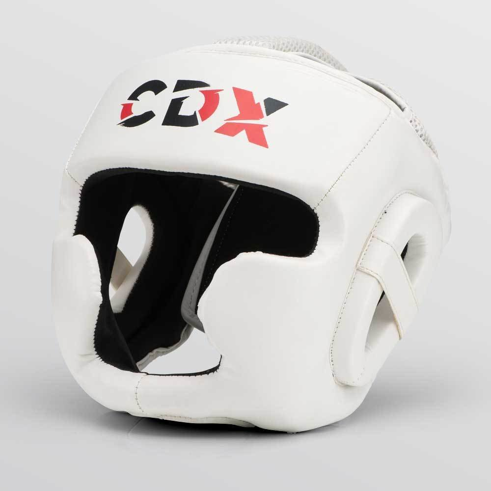 CDX Boxing Head Guard White