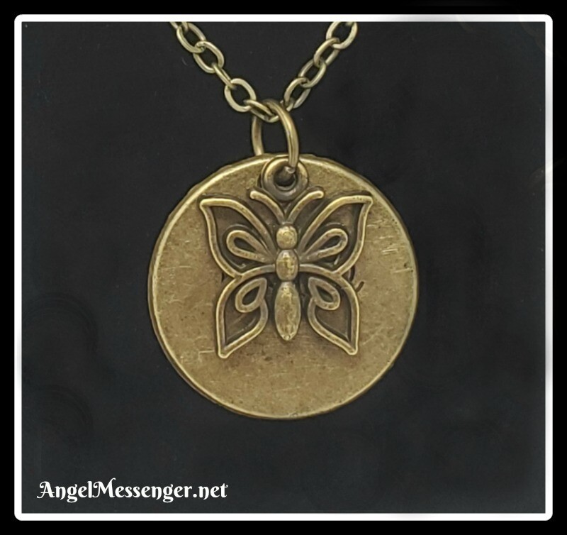 Message of Hope Butterfly Necklace
