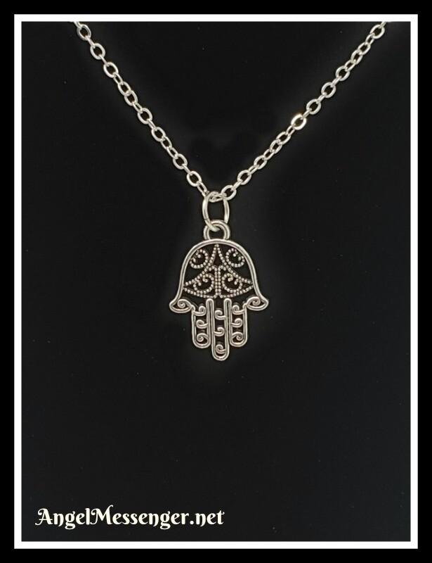 Fatima (Hamsa) Hand Necklace