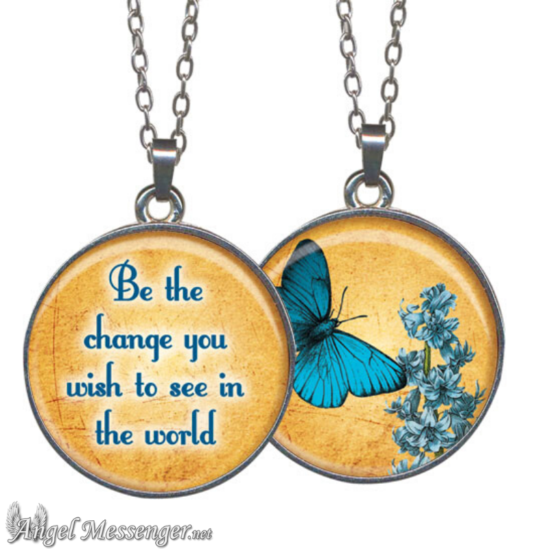 Be The Change Necklace (New!)