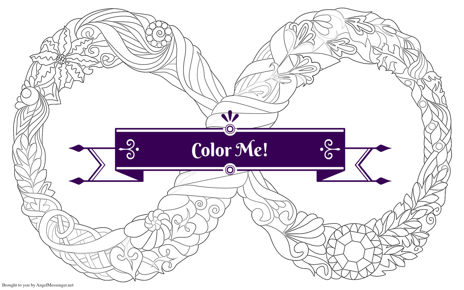 Eternity Coloring Page
