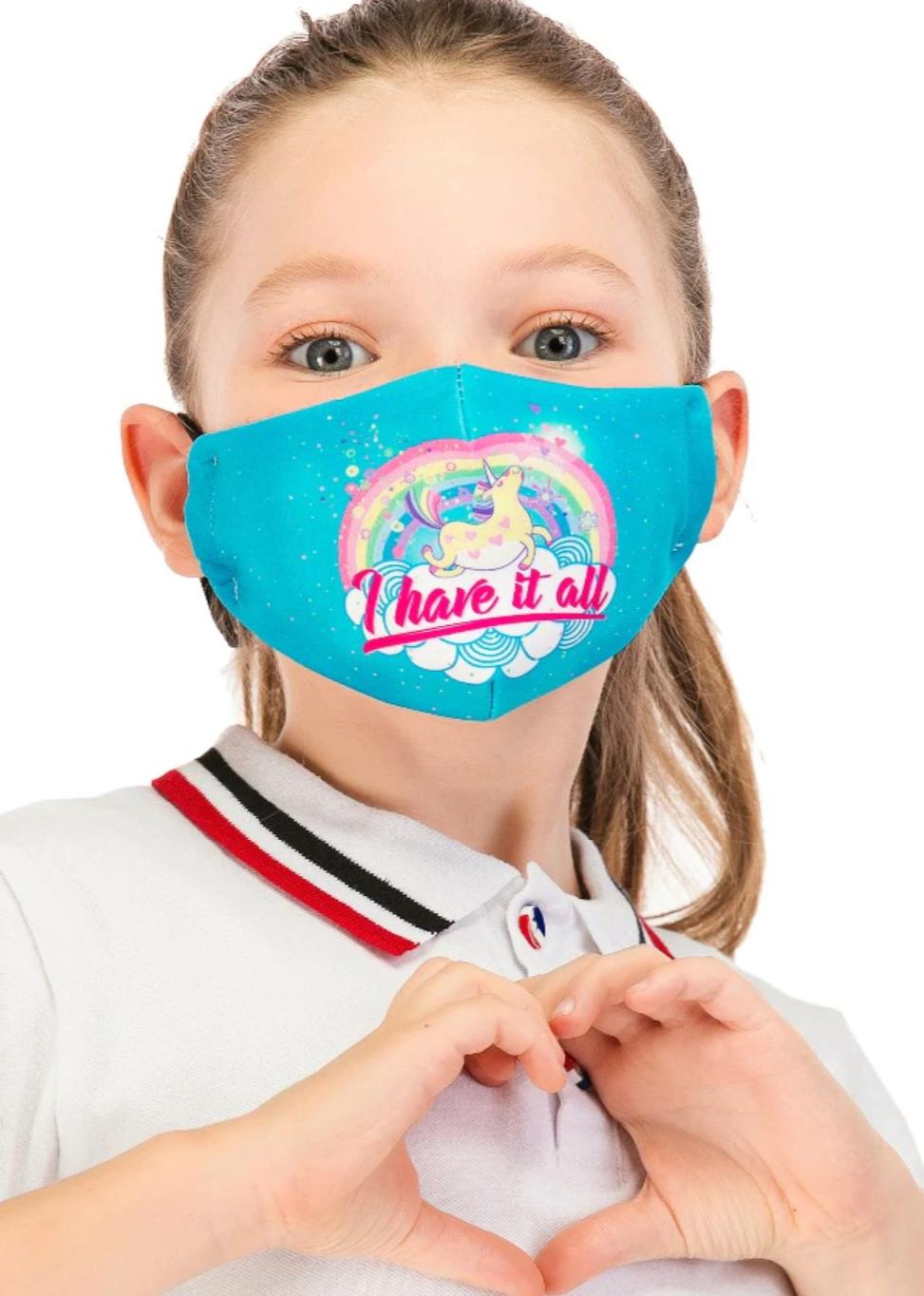 Adjustable Face Masks for Children (with filters)