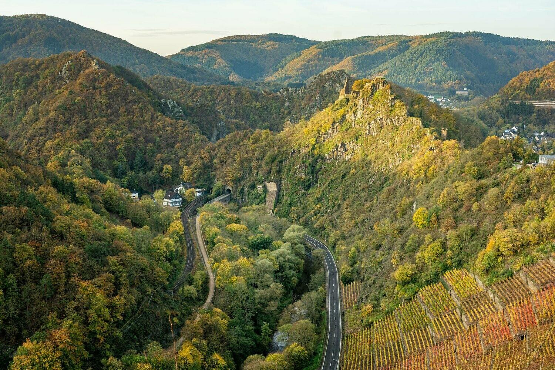 Burg Are - Leinwand