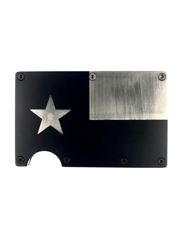 "R.F.I.D. Wallet Carrier ""Lonestar Flag"""