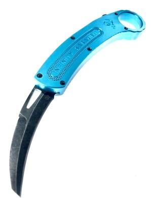 Tiffany Blue Karambit OTF