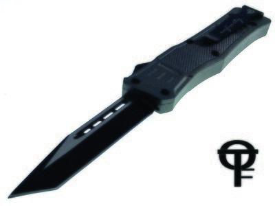 Cerakote® Fullsize Infinity OTF Tactical Knife (Stealth Grey)