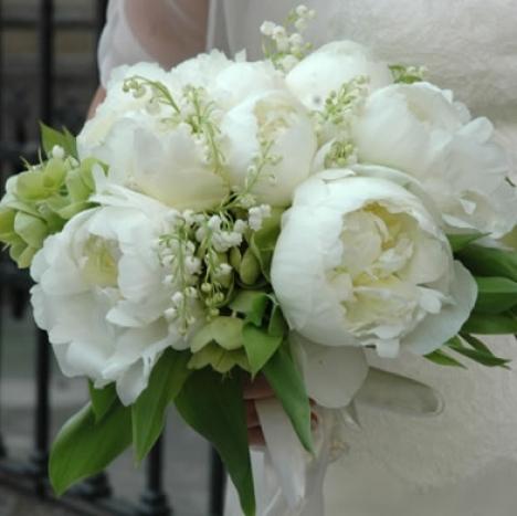 Bouquet Da Sposa Con Peonie.Bouquet Da Sposa Con Peonie
