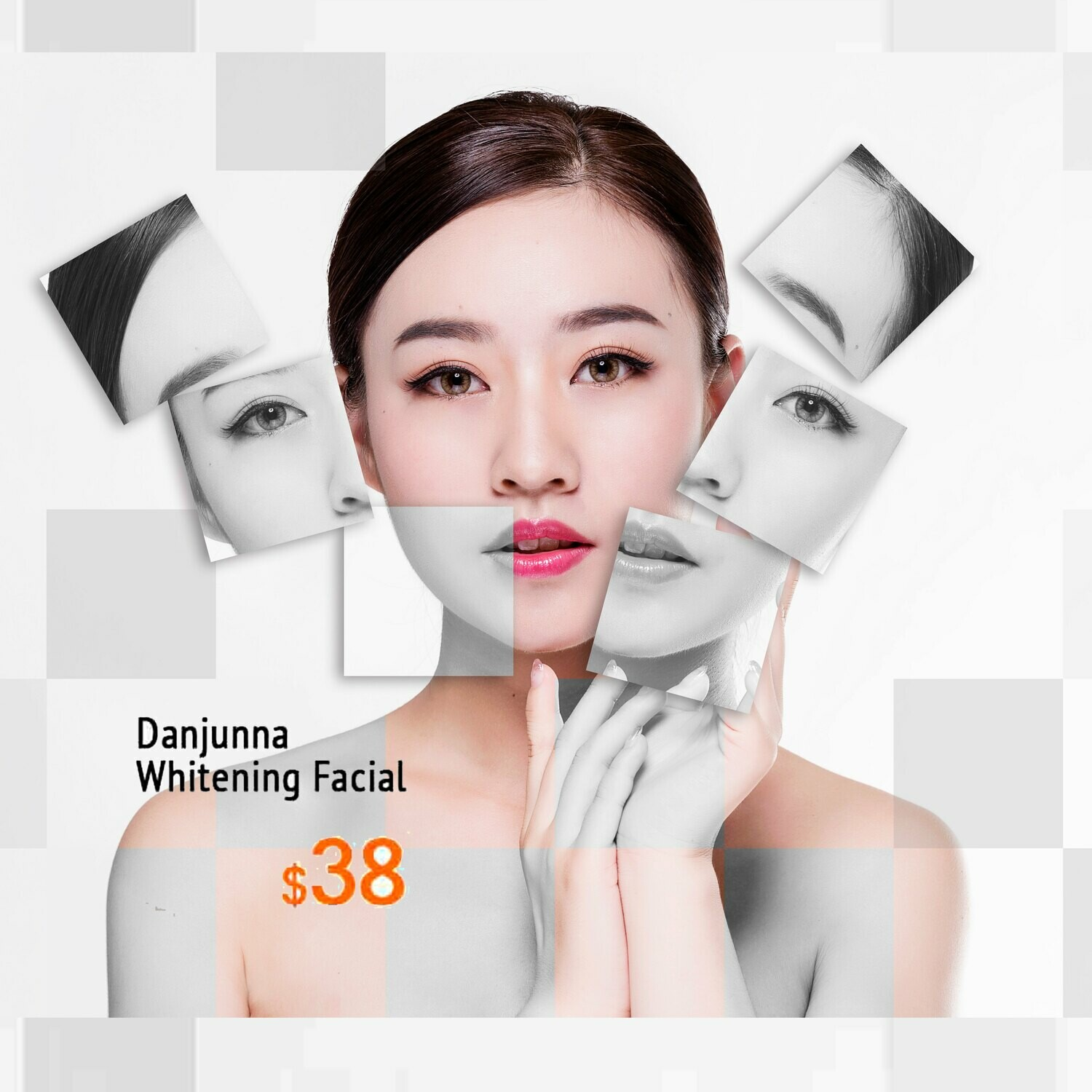 Danjunna Whitening Facial Trial