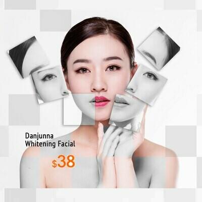 Danjunna Whitening Facial Trial