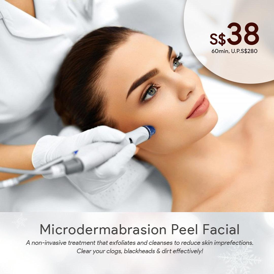 Microdermabrasion Peel Facial First Trial 0006