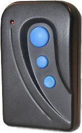 Three Button Rolling Code Visor Remote