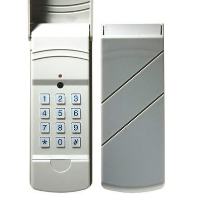 Dolphin Wireless Garage Door Keypad, 300/310MHz