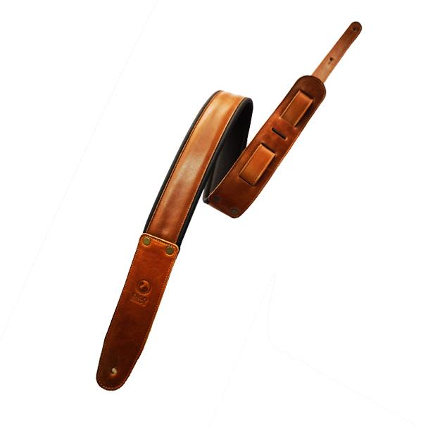 "G-Lite 2"" Brown (Padded, Genuine Leather) 00048"