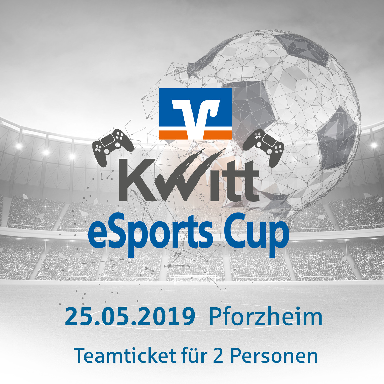 Kwitt eSports Cup powered by Volksbank Pforzheim