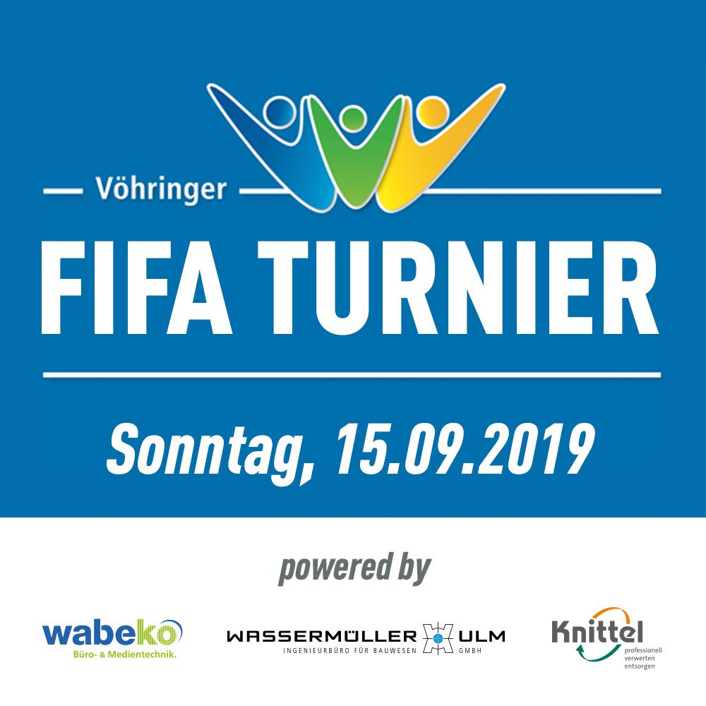 Vöhringer FIFA Turnier // 15.09.2019 // Playstation 4 - 2vs2