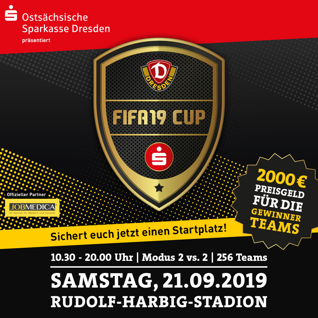 FIFA 19 Cup - Dynamo Dresden  // 21.09.2019 // Playstation 4 - 2vs2
