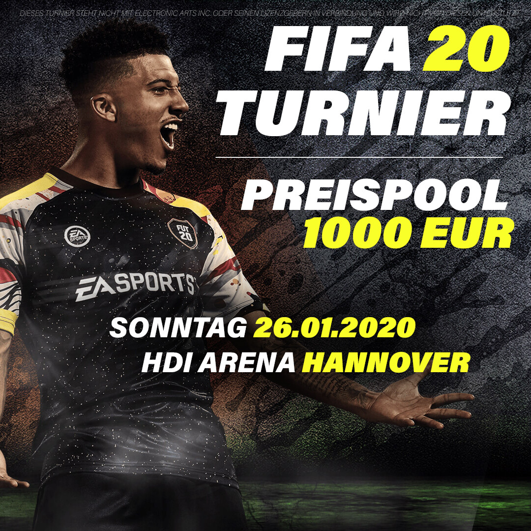 FIFA 20 Turnier - Hannover // 26.01.2020 // 2vs2