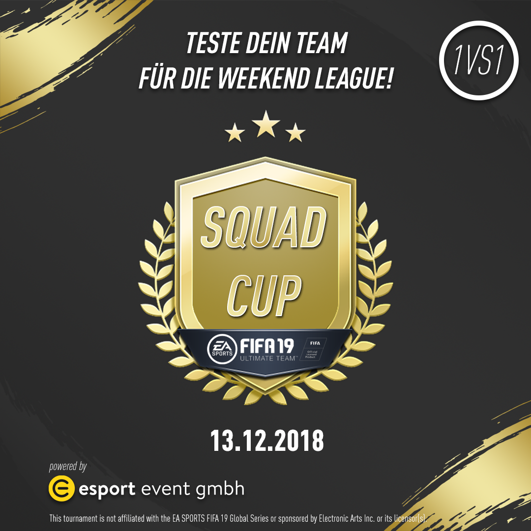 Squad Cup - FIFA 19 Ultimate Team // 13.12.2018