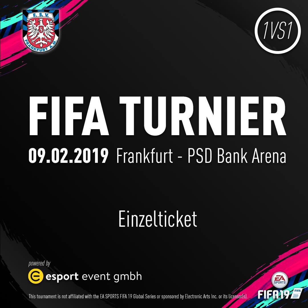 Ticket für 1 Person  // 09.02.2019 // Frankfurt