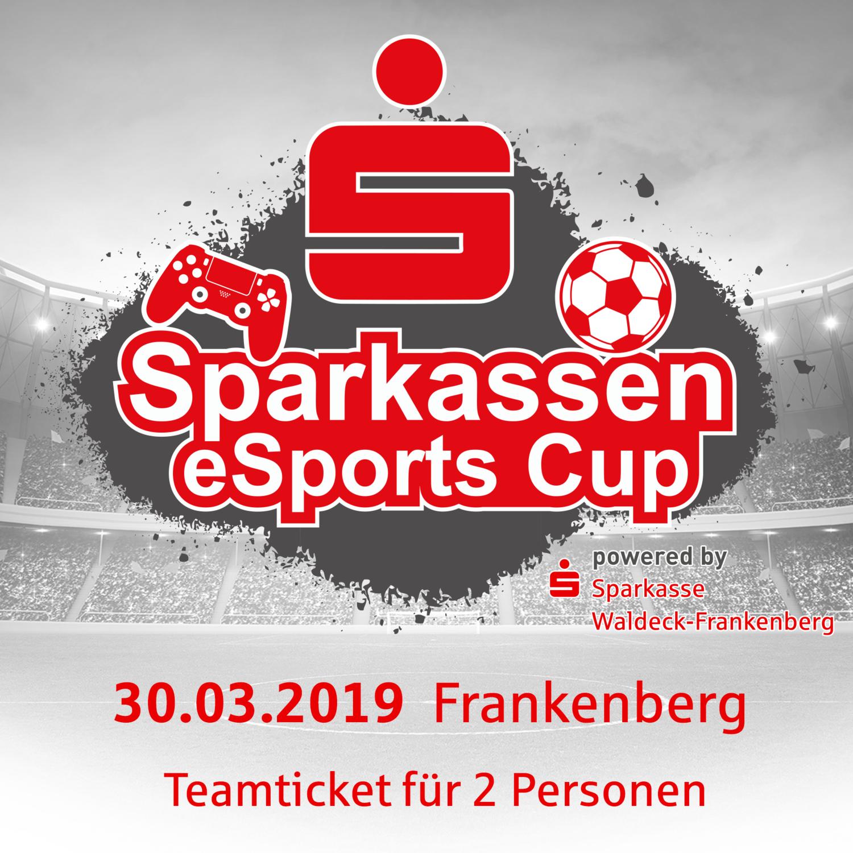 Sparkassen eSports Cup powered by Sparkasse Waldeck-Frankenberg // 30.03.2019 // 2vs2