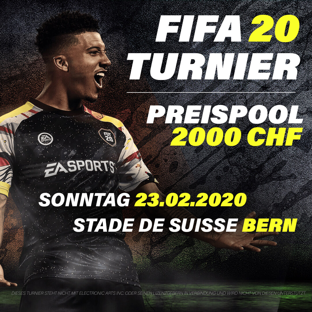 FIFA 20 Turnier - Bern - Modus 2vs2 - 23.02.2020