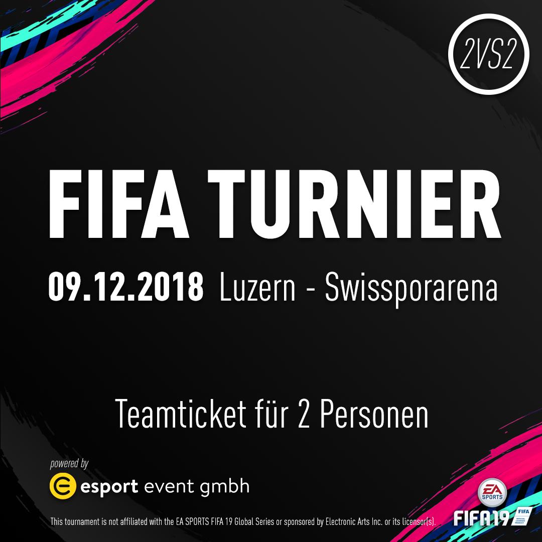 Teamticket für 2 Personen // 09.12.2018 // Luzern