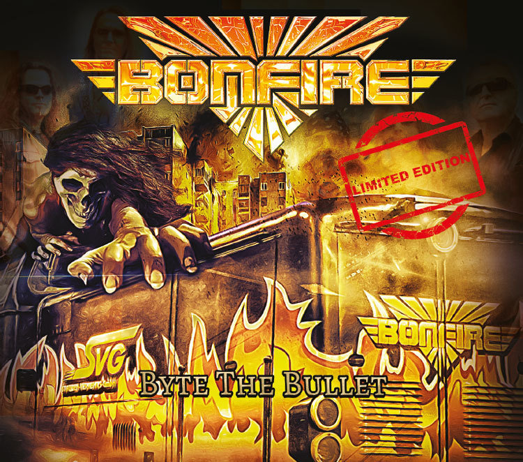 "CD - BONFIRE ""Byte The Bullet"" Limited Edition"