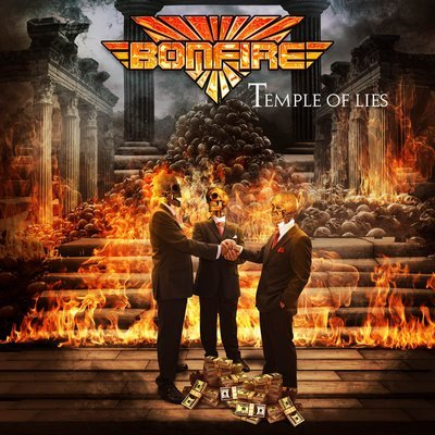BONFIRE - Temple Of Lies - Ltd. CD Digipak