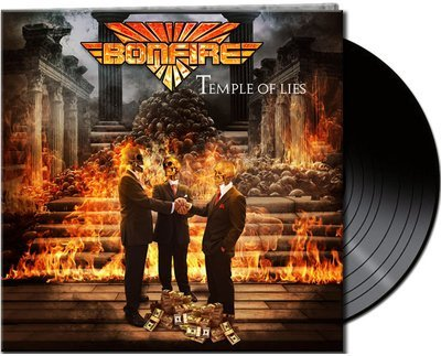 BONFIRE - Temple Of Lies - Ltd. Gtf. Black Vinyl