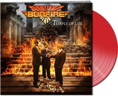 BONFIRE - Temple Of Lies - Ltd. Gtf. Red Vinyl