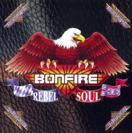BONFIRE - Rebel Soul - CD Jewelcase