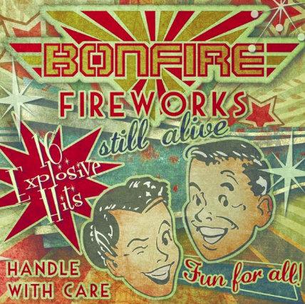 BONFIRE - Fireworks… Still Alive!!! - CD Jewelcase