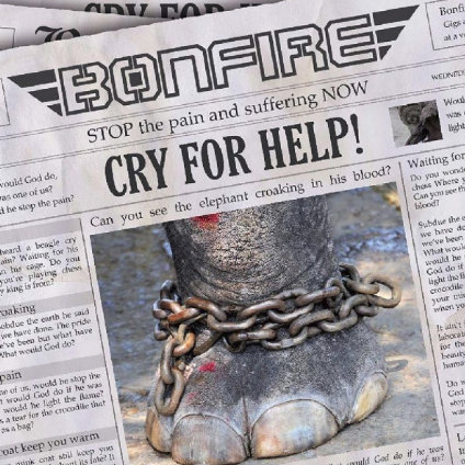 BONFIRE - Cry For Help - EP Digipack