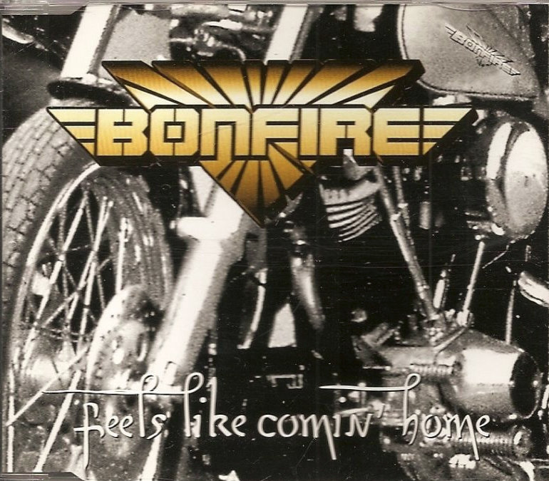 Bonfire ‎– Feels Like Coming Home - CD Single
