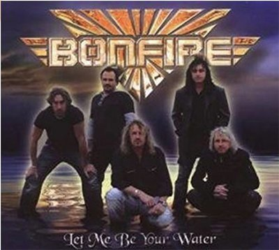 BONFIRE - Let Me Be Your Water EP Digipack