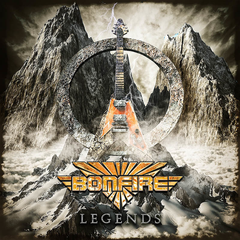 "BONFIRE ""Legends"" 2-CD Jewelcase"