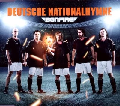Bonfire ‎– Deutsche Nationalhymne - CD Single