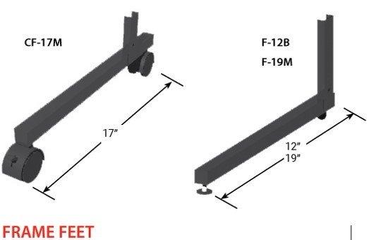 Frame Feet 14424