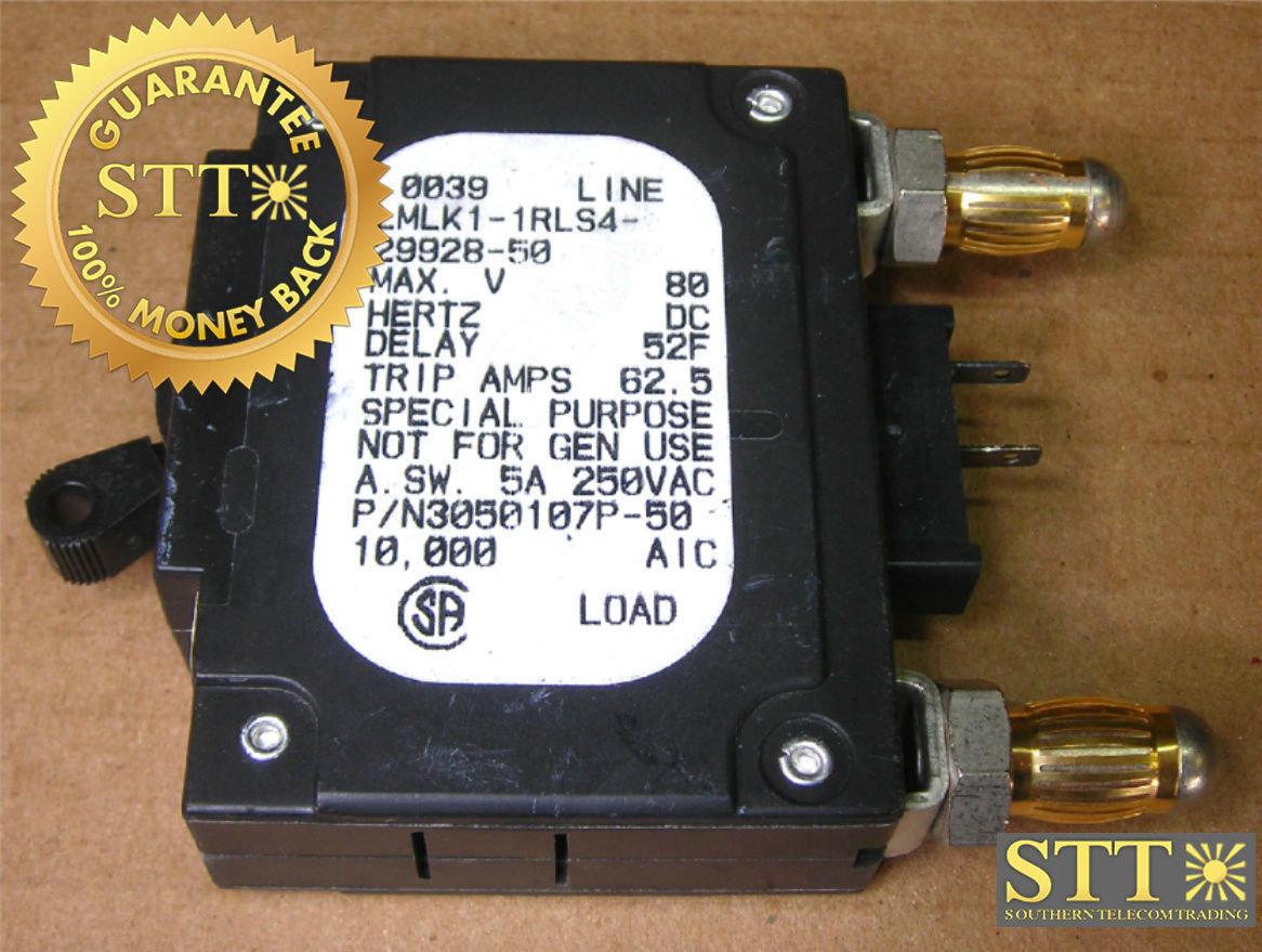 AIRPAX 15 AMP BULLET BREAKER LMLK1-1RLS4-29928-15