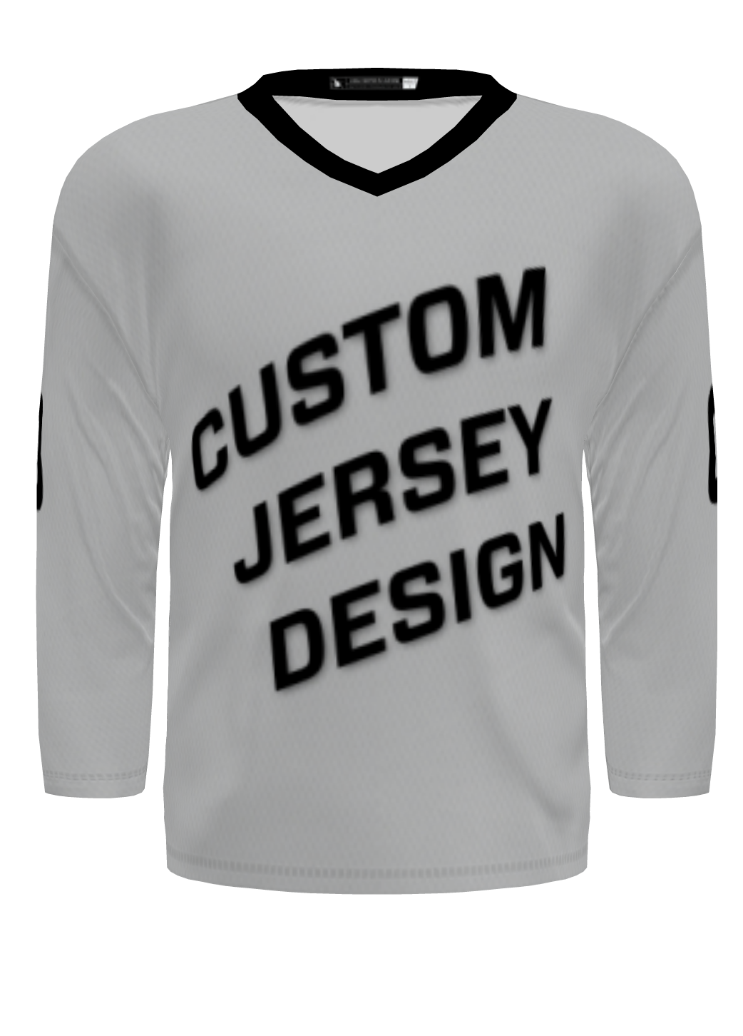 Custom Hockey Jersey - Standard Cut (No Yoke)
