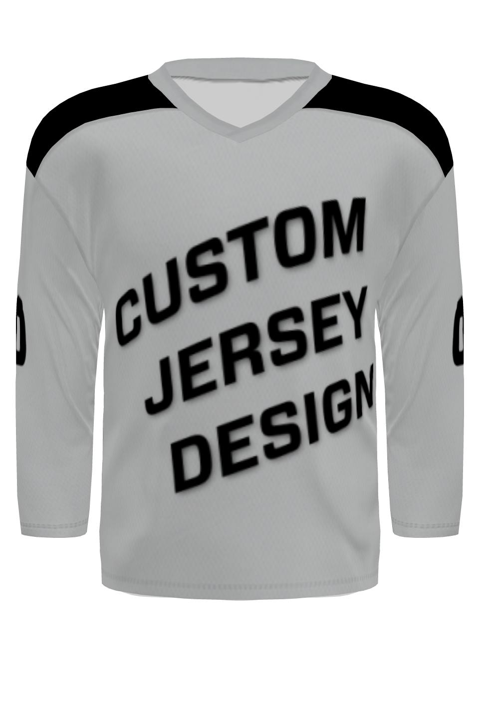 Custom Hockey Jersey - Traditional Cut (with Yoke)
