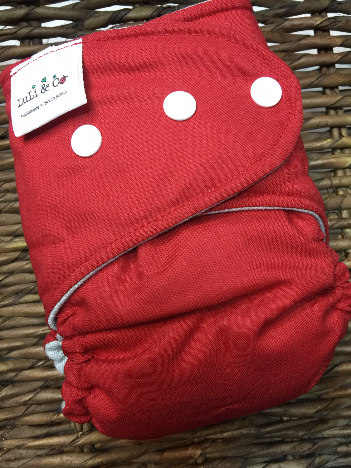 Snap In One-Deep Red (One Size)