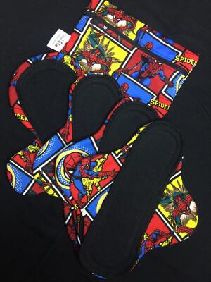 Deluxe Ladycloth -Superhero's Spiderman- Liner