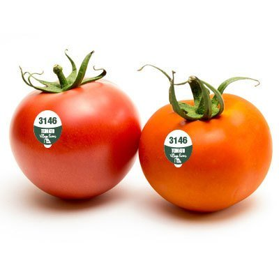 Tomato - FDA Food Safe PLU Sticker - 5000 Stickers