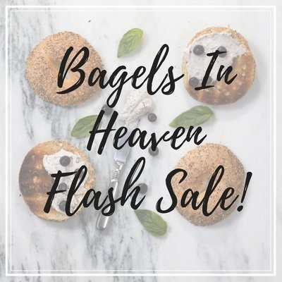 """BYGO autographed copies of They Serve Bagels in Heaven plus the e-book """"7 Things My Dead Husband Taught Me"""" (and FREE SHIPPING!)"""