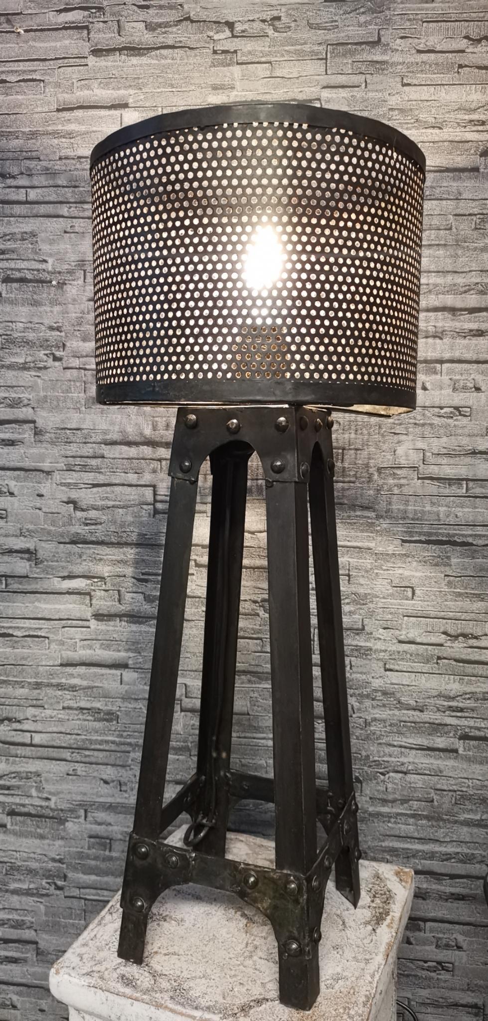 Metalen tafellamp 01780