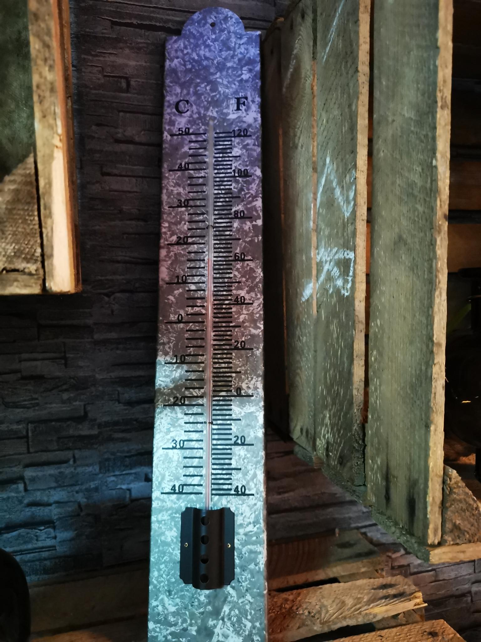 Zinken buiten thermometer 01806