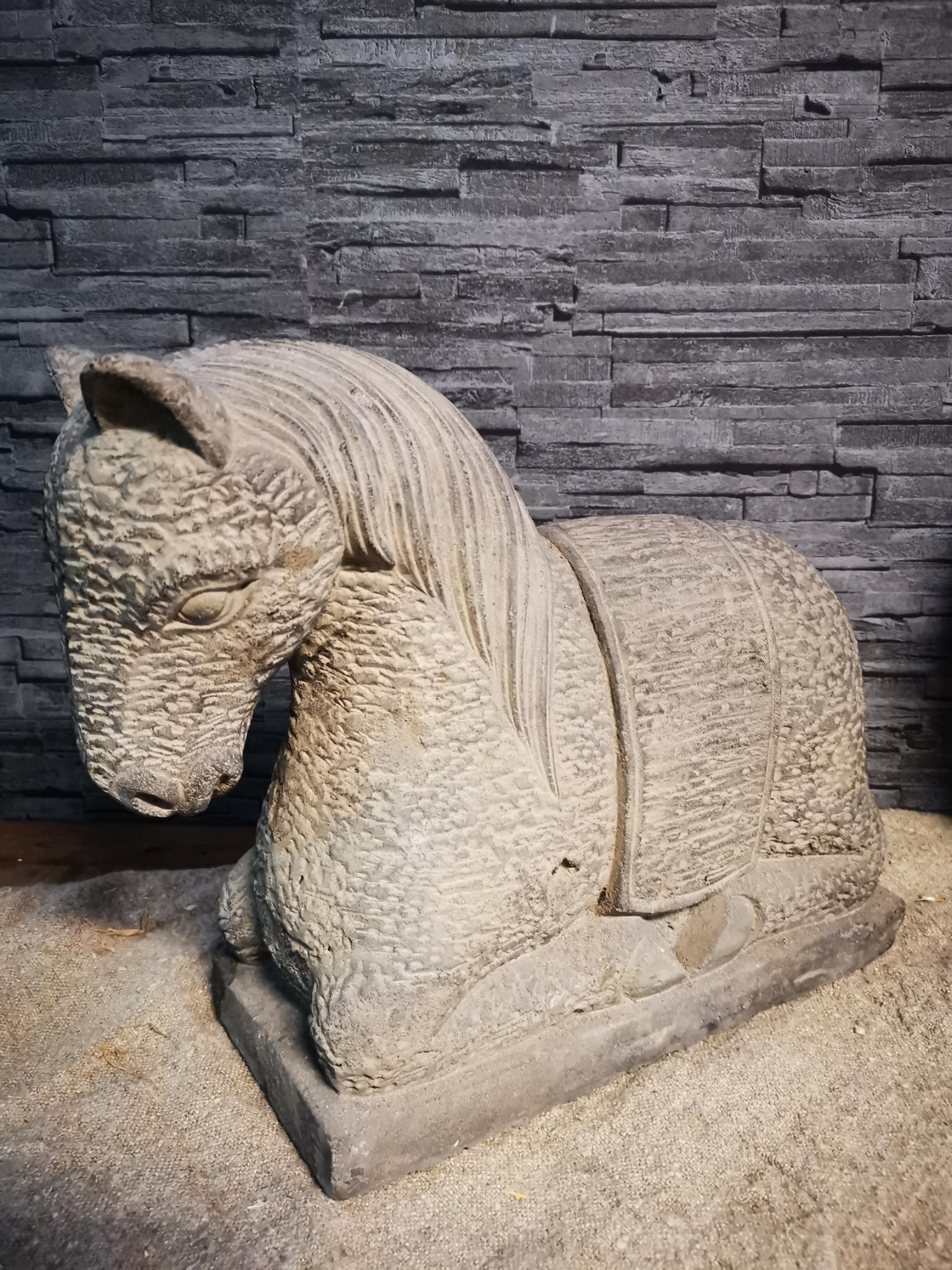 Hardsteen paard xl 01876